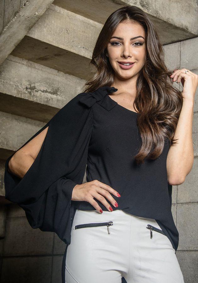 Blusa Valentina Preta