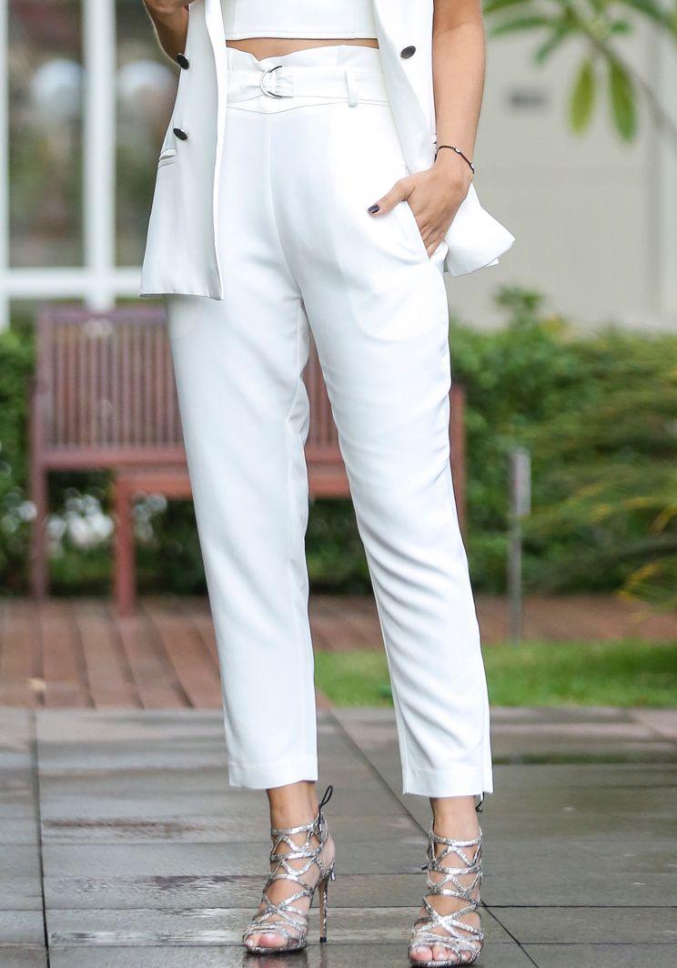 Calça Marília Branca