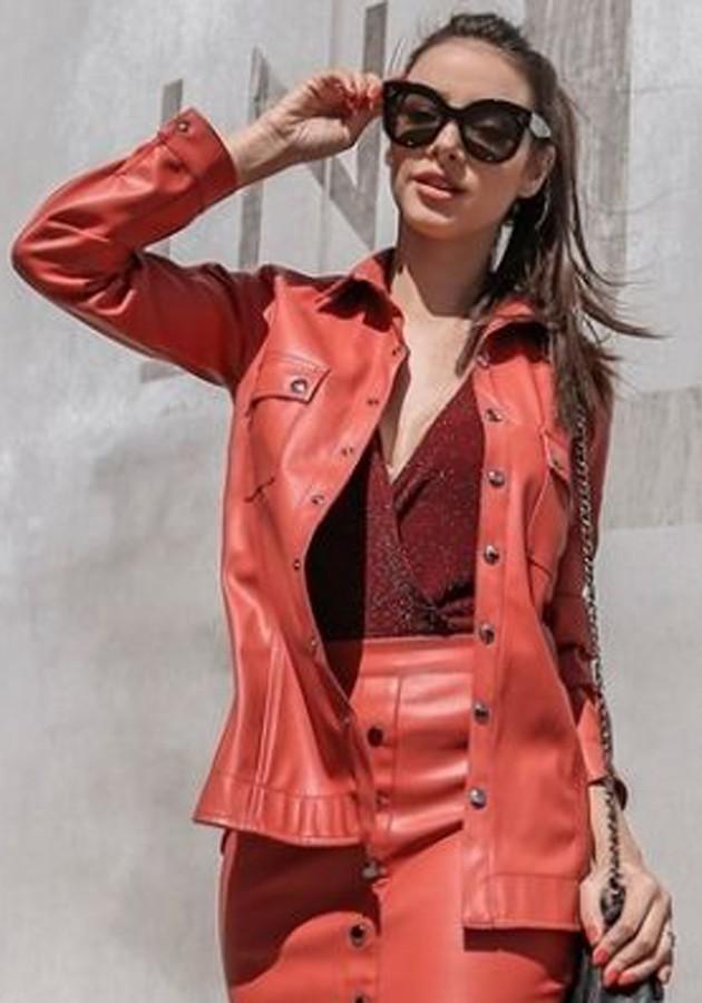 Camisa Pietra Dark Rose