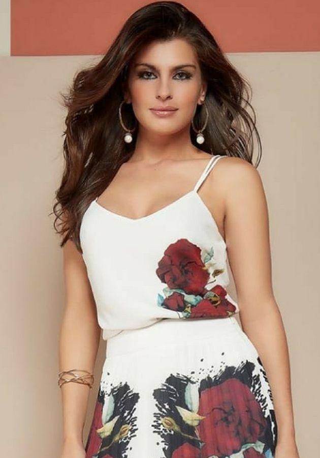 Regata Sublimada Rosas