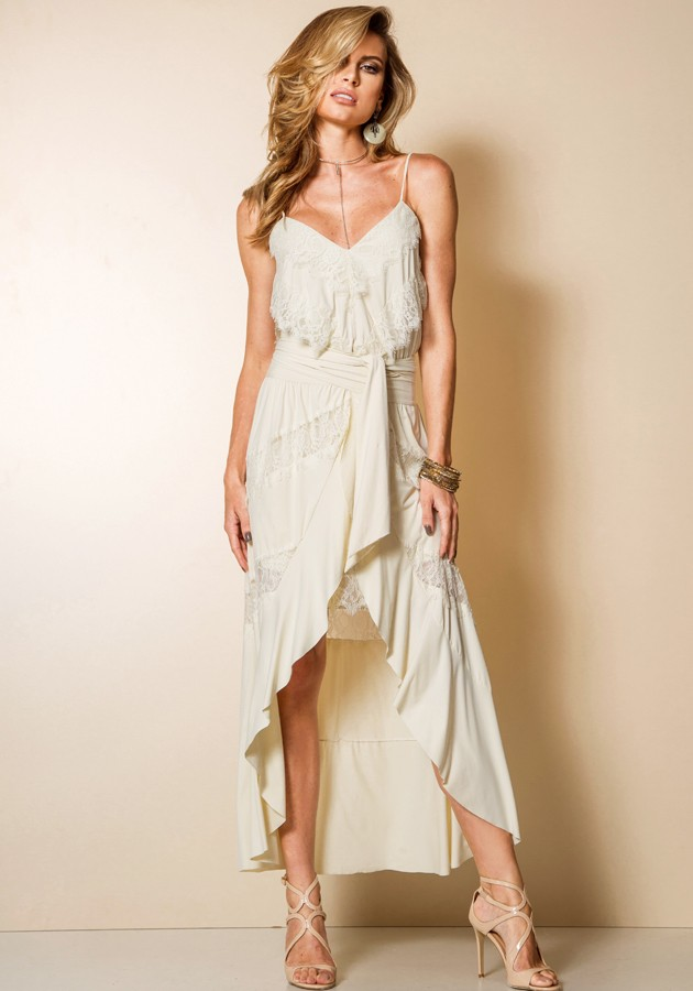 Vestido Slip Dress Double Garnús