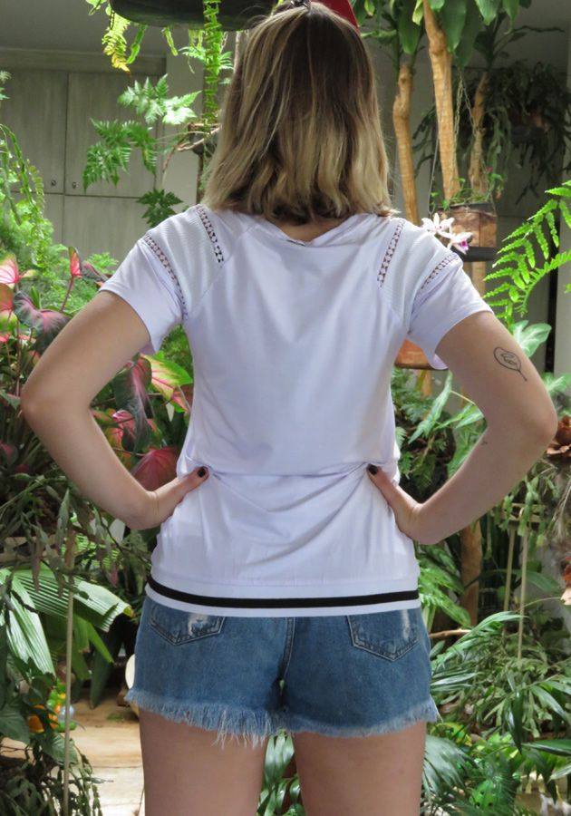 T-Shirt Mamô California Branco