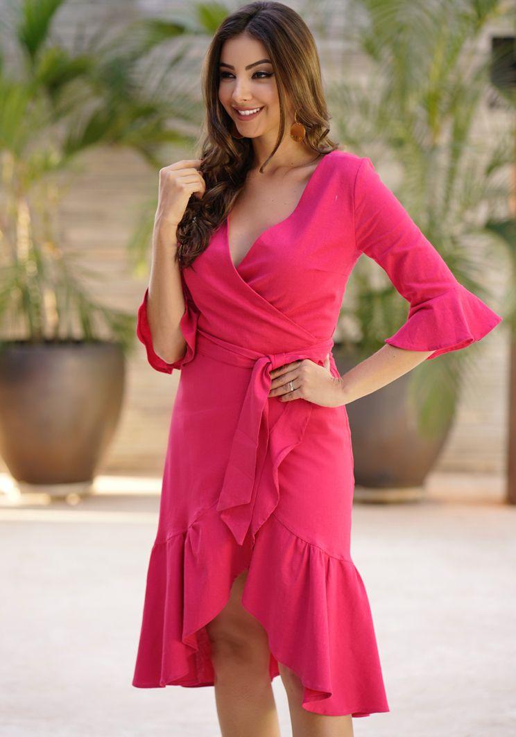 Vestido Eliane Rosa