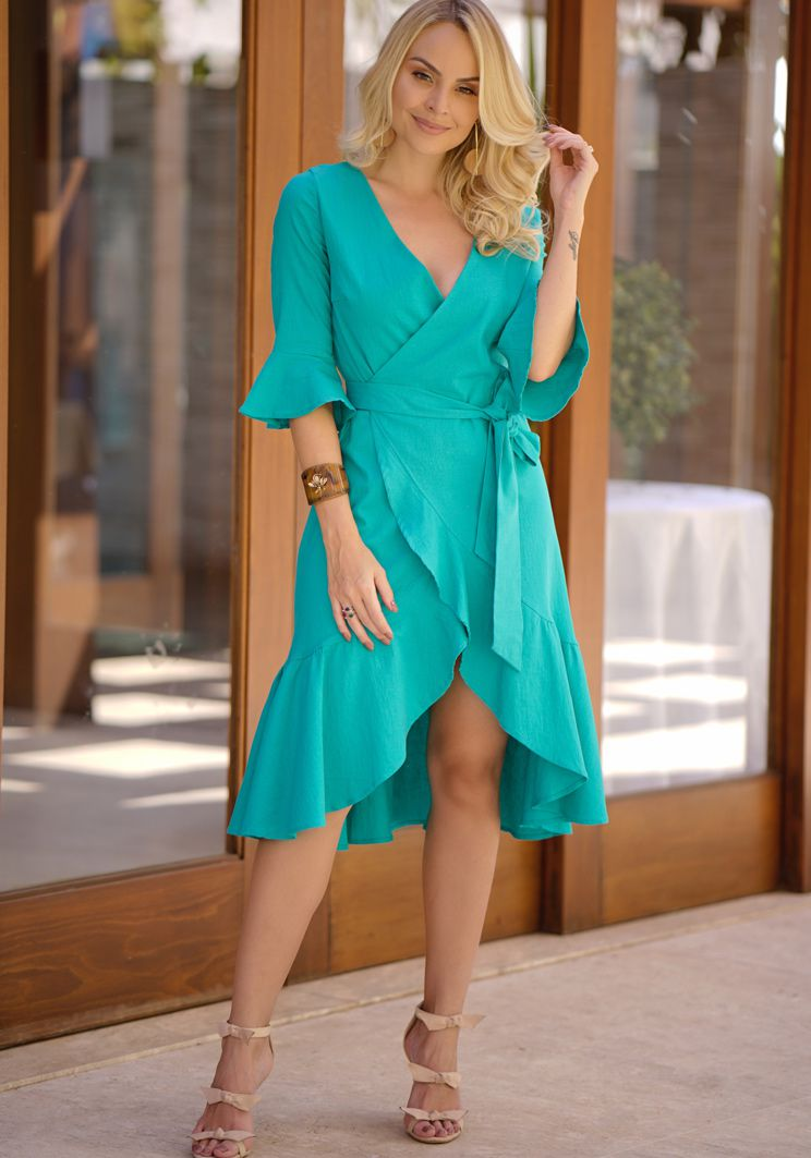 Vestido Eliane Verde