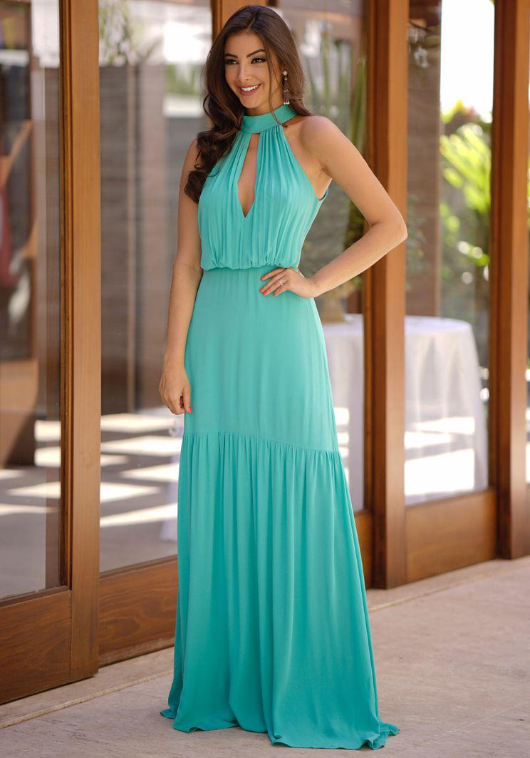 Vestido Elize Longo