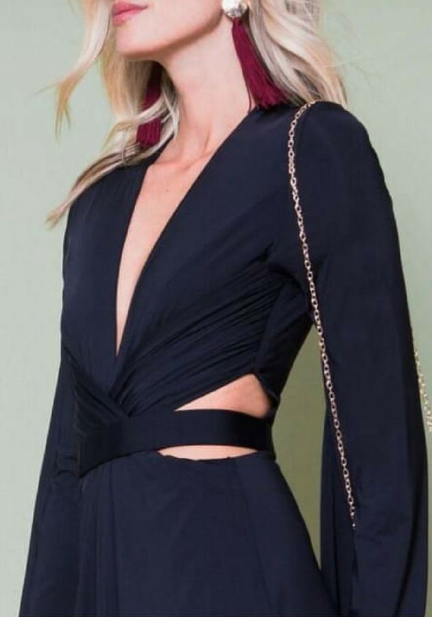 Vestido Faixa Cintura