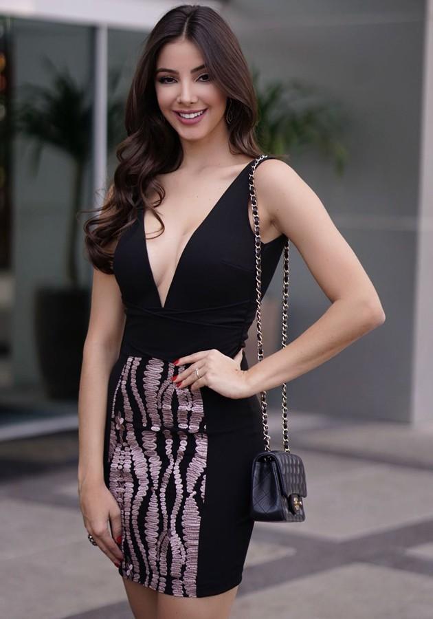 Vestido Liv Saia Bordada