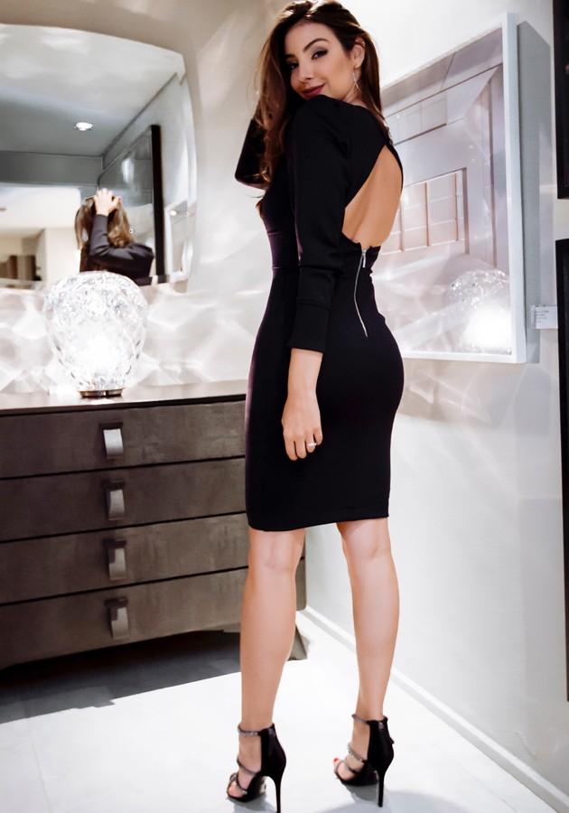 Vestido Paula Preto