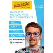 Máscara de proteção facial infantil  azul (uni)