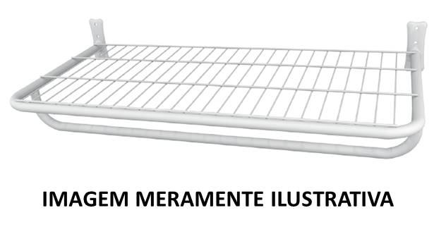 Arara de Roupas Prateleira c\ Pingente 0,40 x 1,50m