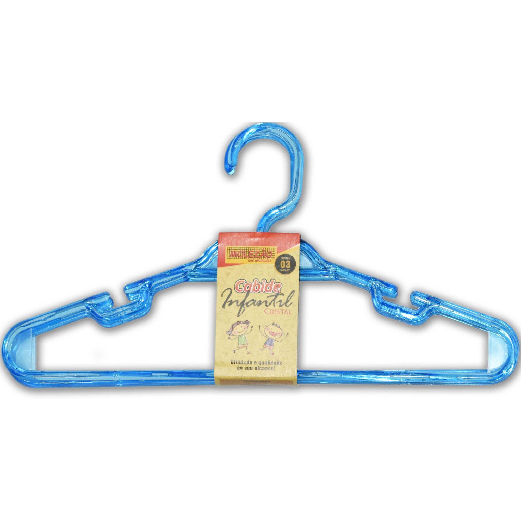 CABIDE  INFANTIL CRISTAL Kit c\3