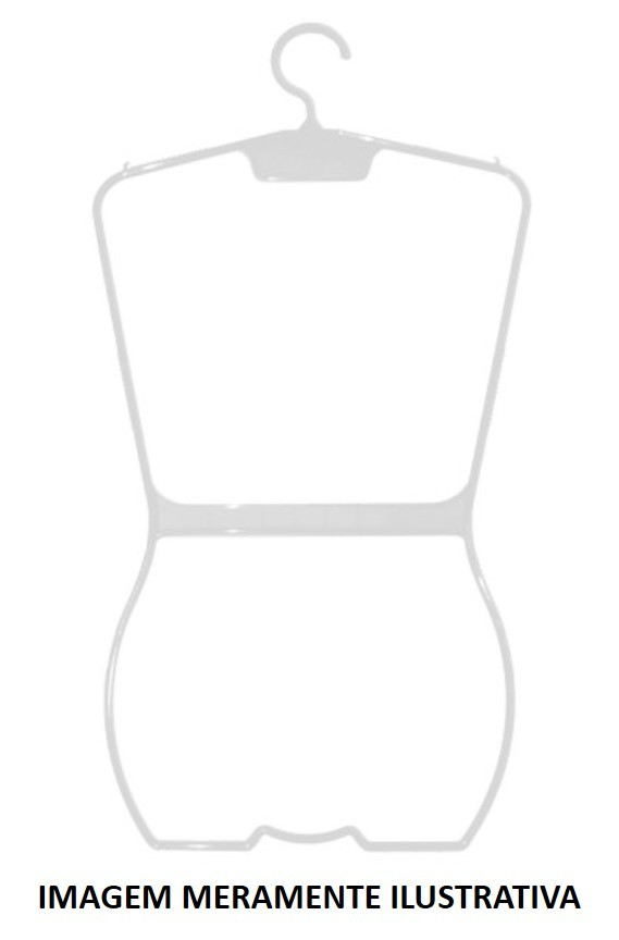 Cabide p/ maiô branco