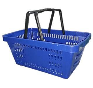 Cesta de compras plástica