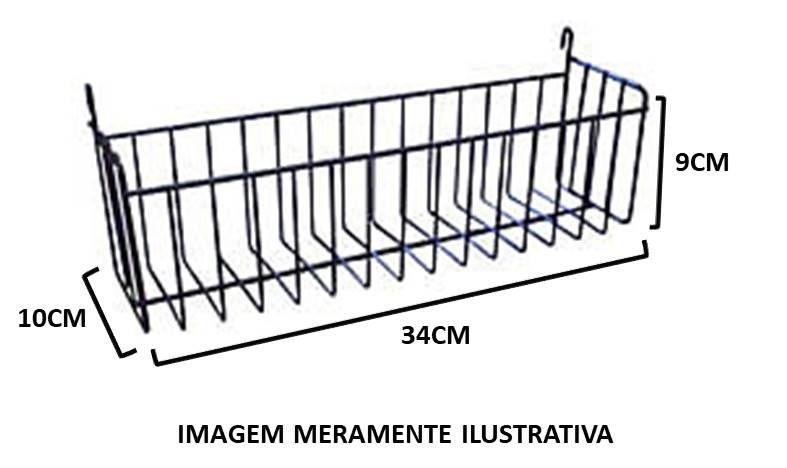Cesto Multiuso c/ Gancho (34 cm)