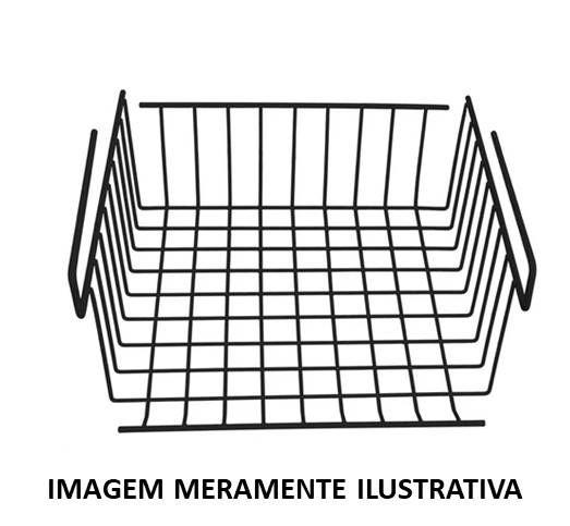 Cesto Multiuso p/ Prateleira (26,5 cm)