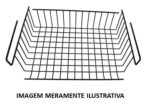 Cesto Multiuso p/ Prateleira (36,5 cm)
