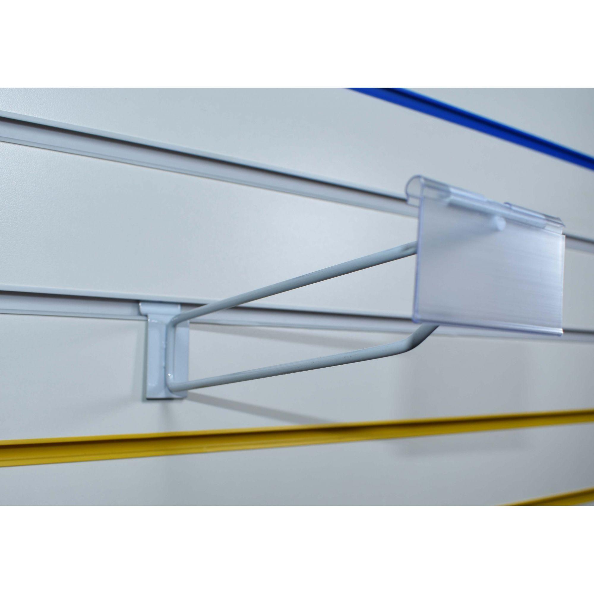 Pegboard c/ porta preço p/ painel canaletado