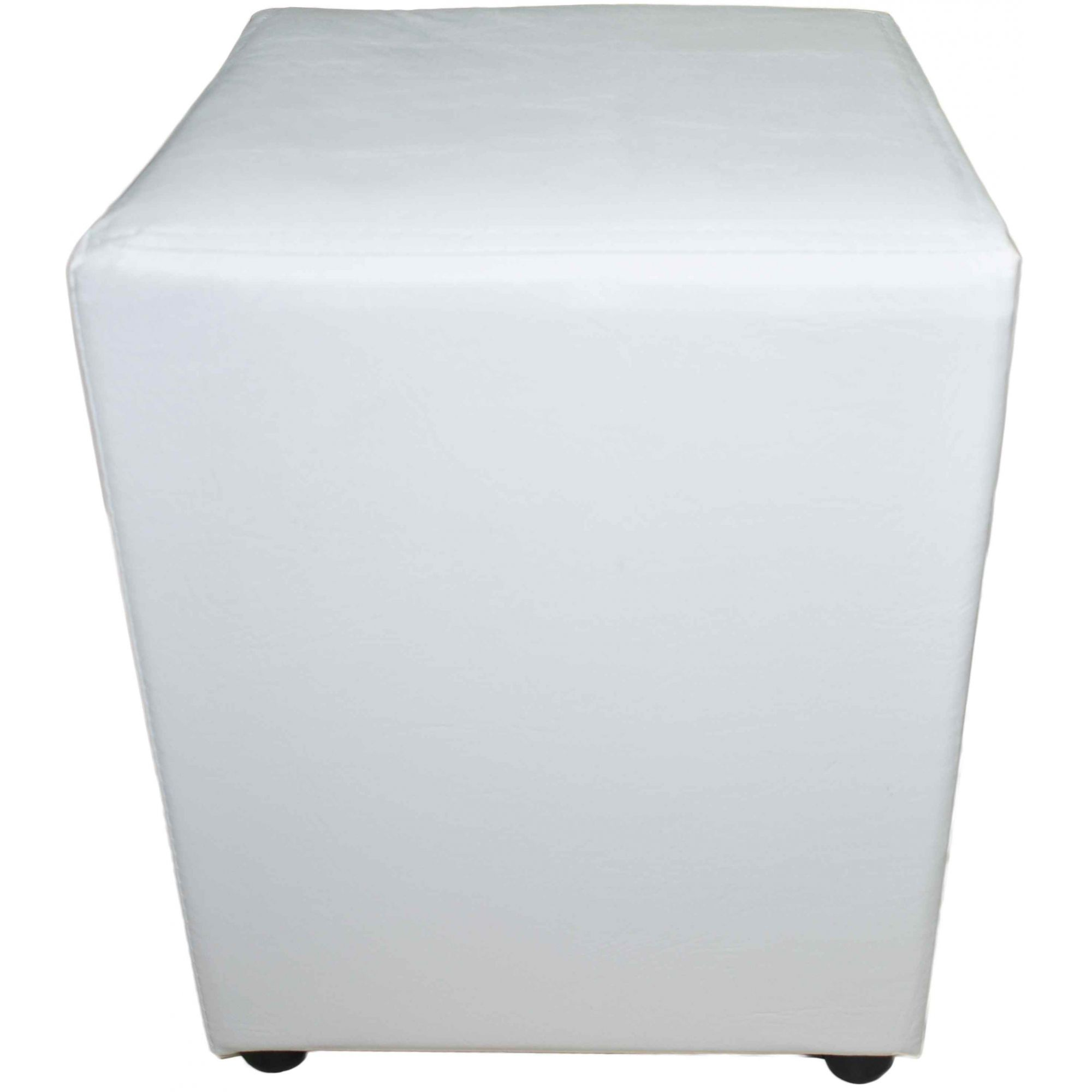 Puff Quadrado Branco