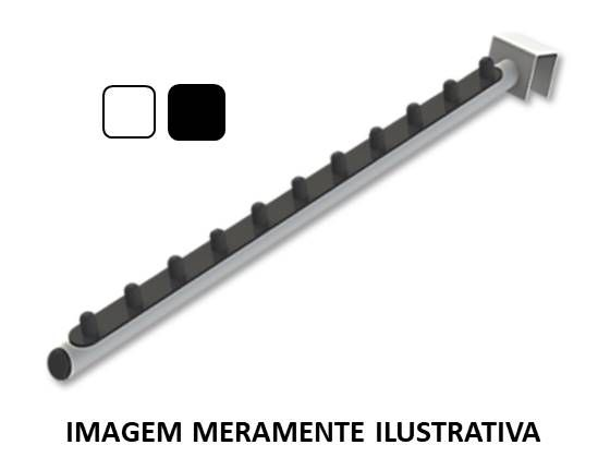 RT Inclinado com acabamento plástico p/ Régua 40cm