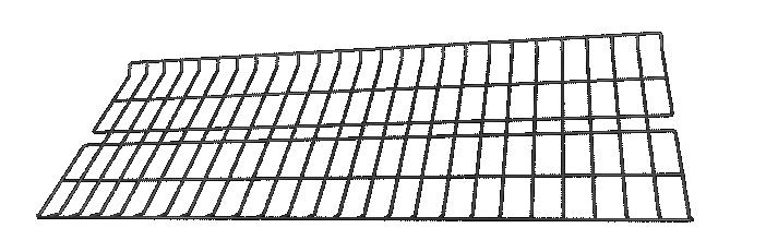 Tela p/ Arara de Roupas Desfile Simples 1,2m