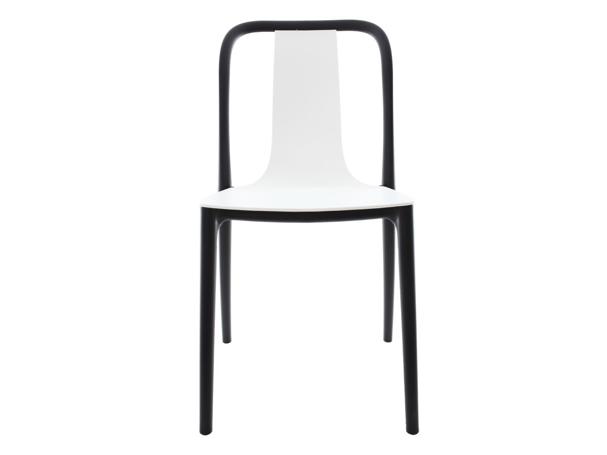 Cadeira Belle Branca Empilhável