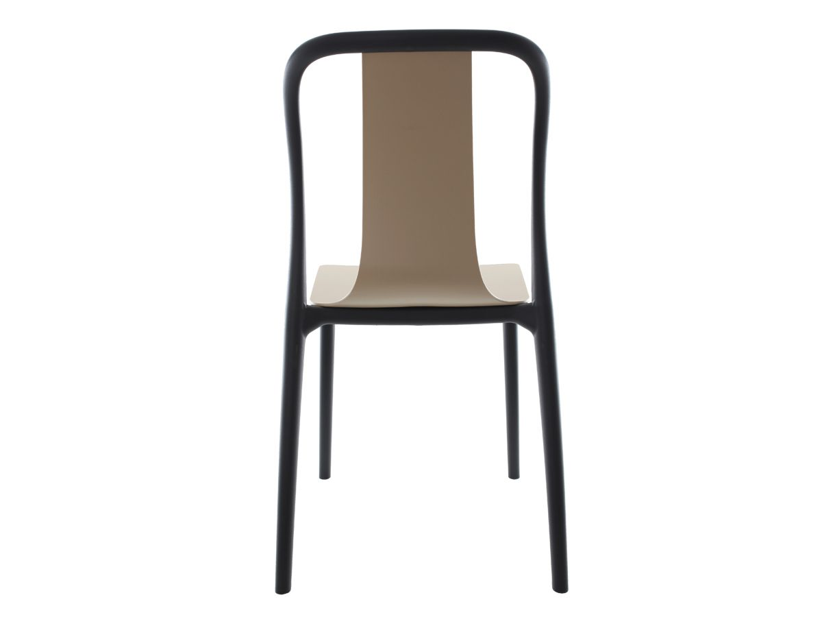 Cadeira Belle Nude Empilhável