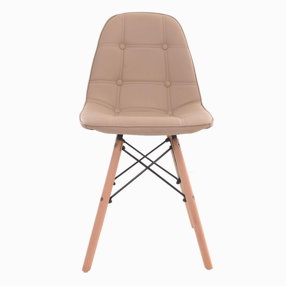 Cadeira Charles Eames Botone Nude