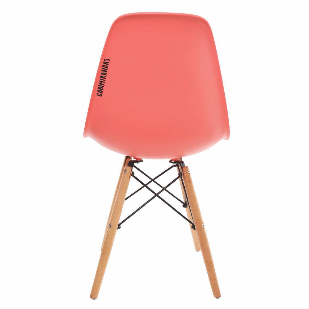 Cadeira Charles Eames Eiffel Animals