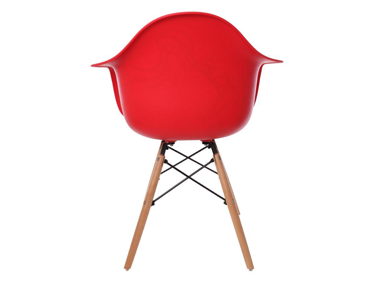 Cadeira Charles Eames Eiffel Com Braço Red Wave