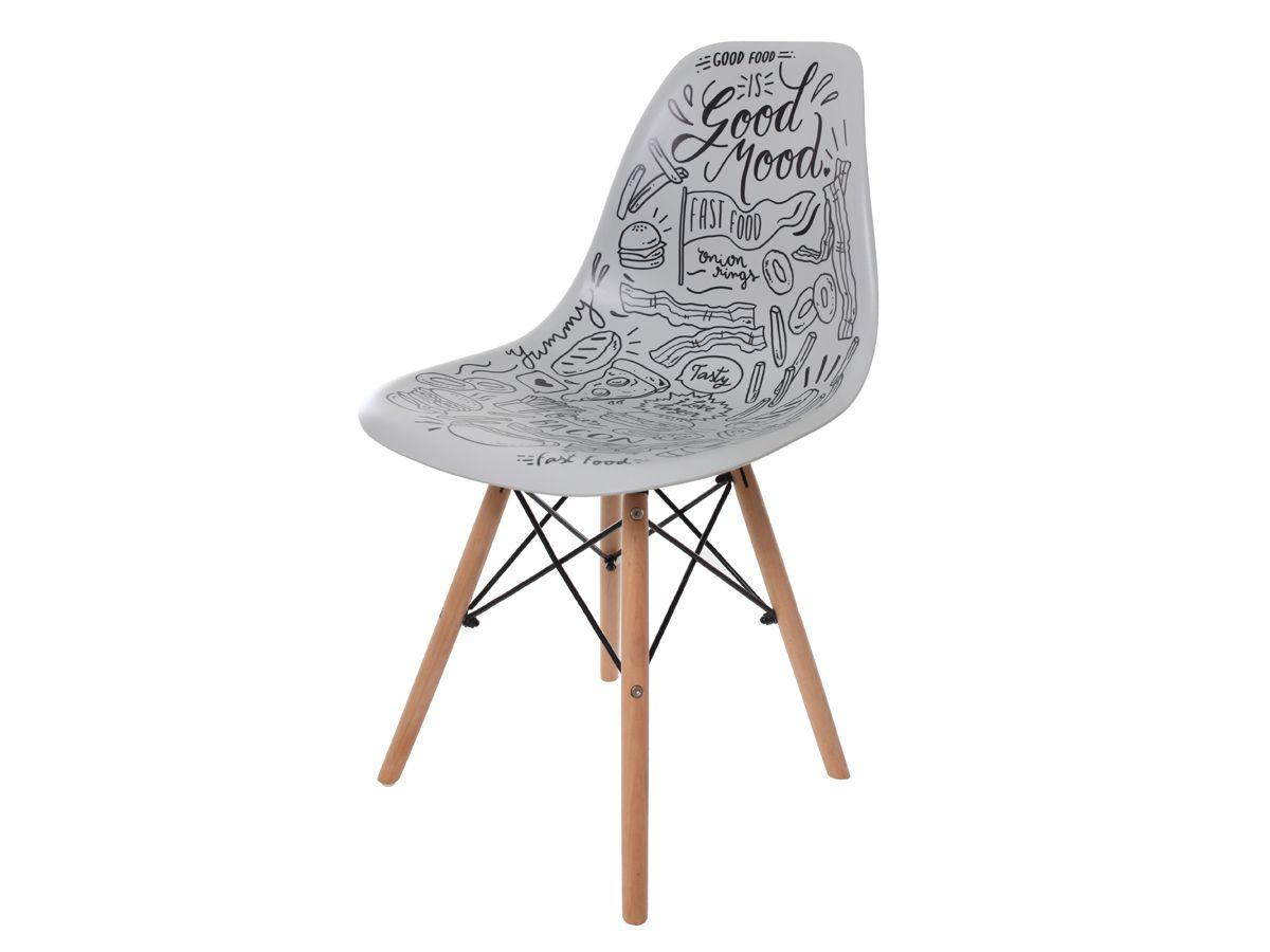 Cadeira Charles Eames Eiffel Fast Food