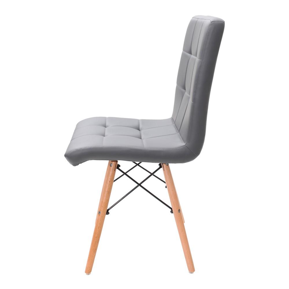 Cadeira Charles Eames Eiffel Gomos Cinza