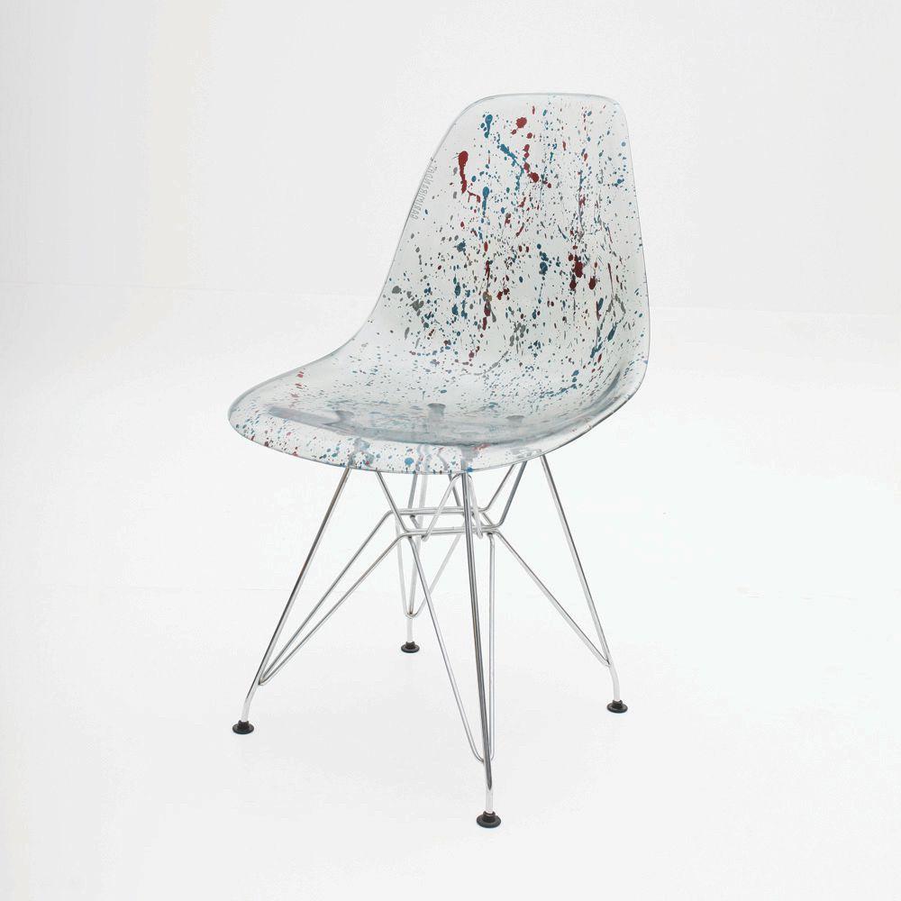 Cadeira Charles Eames Eiffel Paint