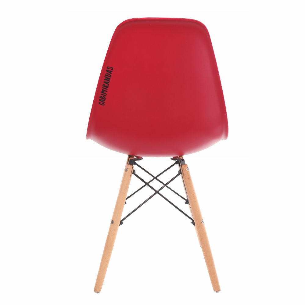 Cadeira Charles Eames Eiffel Red Food
