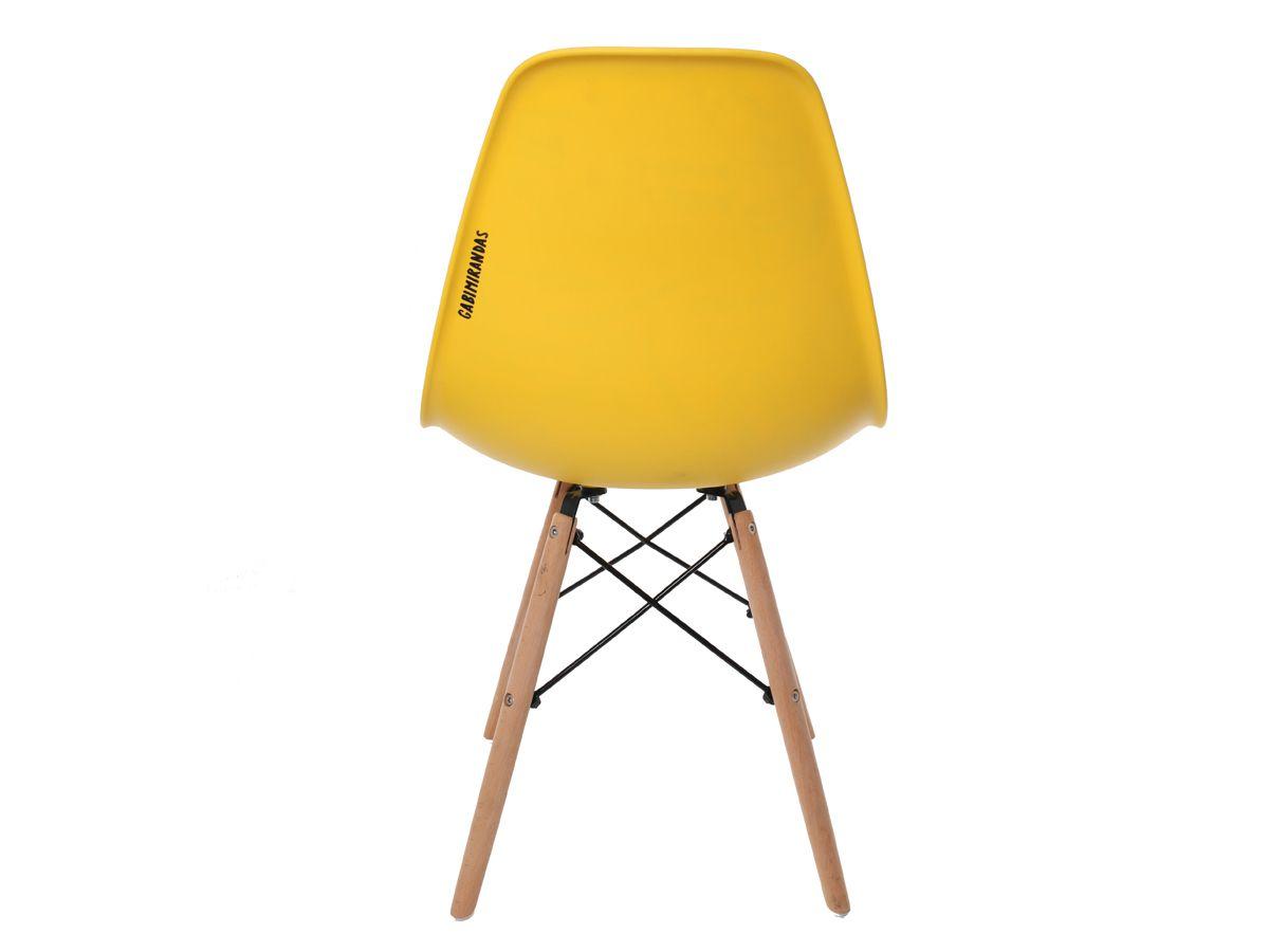 Cadeira Charles Eames Eiffel Yellow Drink