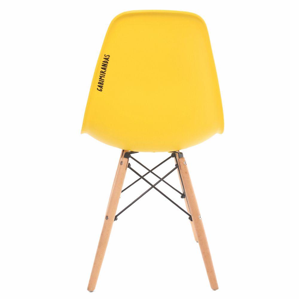 Cadeira Charles Eames Eiffel Yellow Food