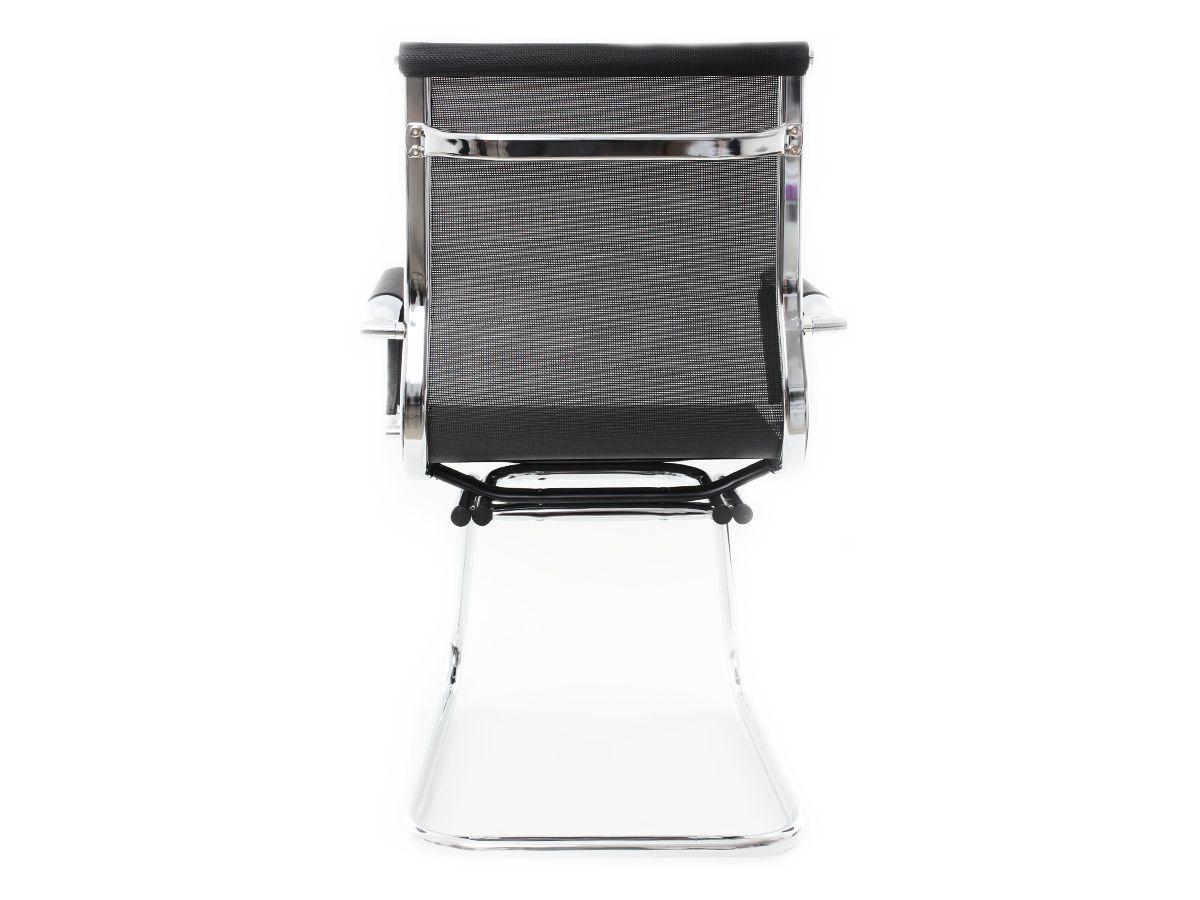 Cadeira Para Escritório Interlocutor Fixa Stripes Esteirinha Charles Eames Eiffel Mesh
