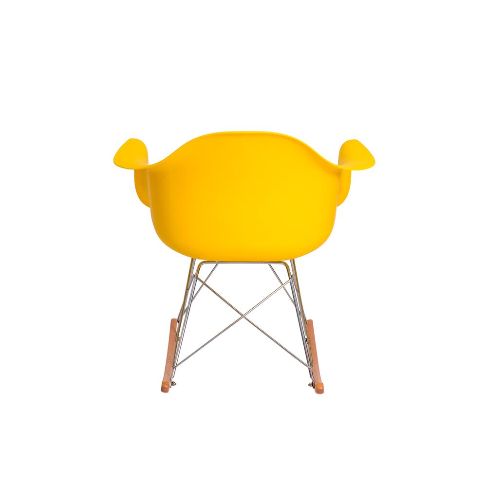 Cadeira Eiffel Eames RAR c/Braço Amarela Balanço