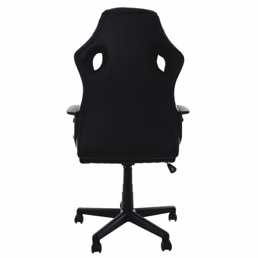 Cadeira Gamer EagleX S1 Giratória e Ajuste de Altura Preto