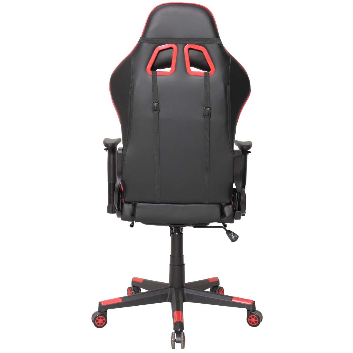 Cadeira Gamer Matrix Vermelha Com Descanso De Pé