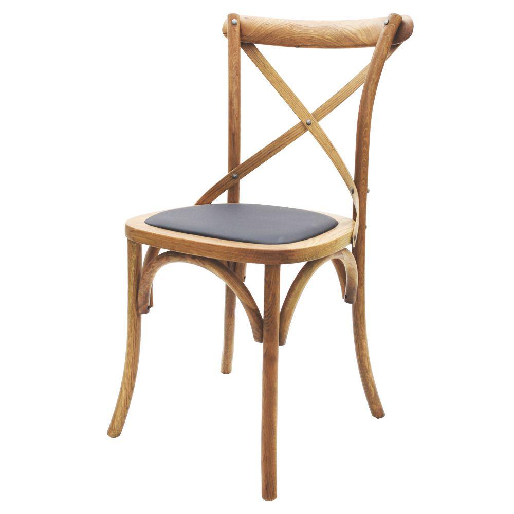 Cadeira Katrina Cross Paris Com Assento Em Pu