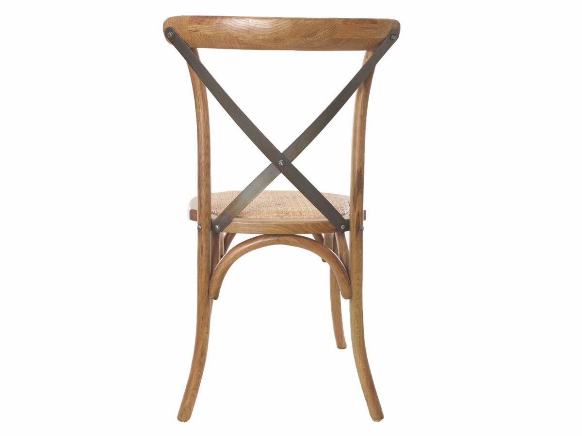 Cadeira Katrina Cross Paris Com Haste De Metal Empilhável