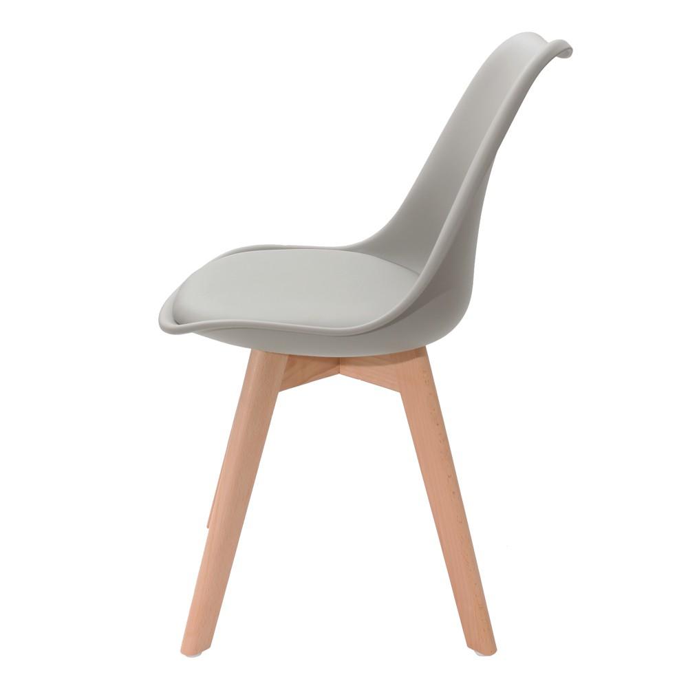 Cadeira Saarinen Leda Design Cinza