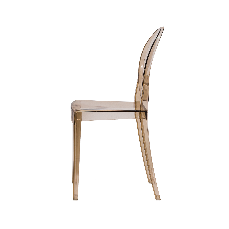 Cadeira Victoria Ghost Ambar