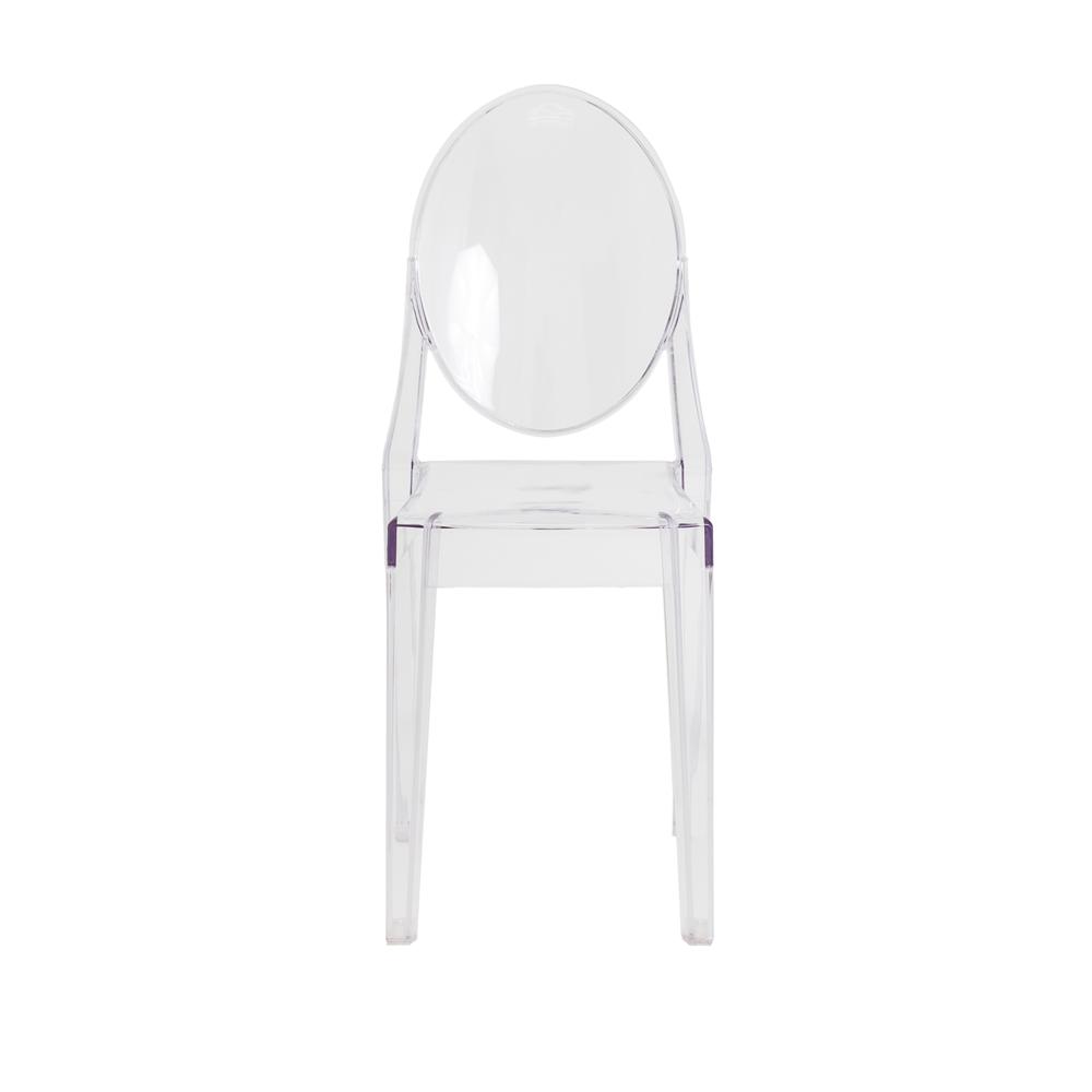 Cadeira Miss Sofia Victoria Ghost Transparente