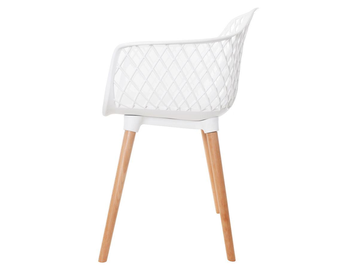 Cadeira Vision Com Braço Branca