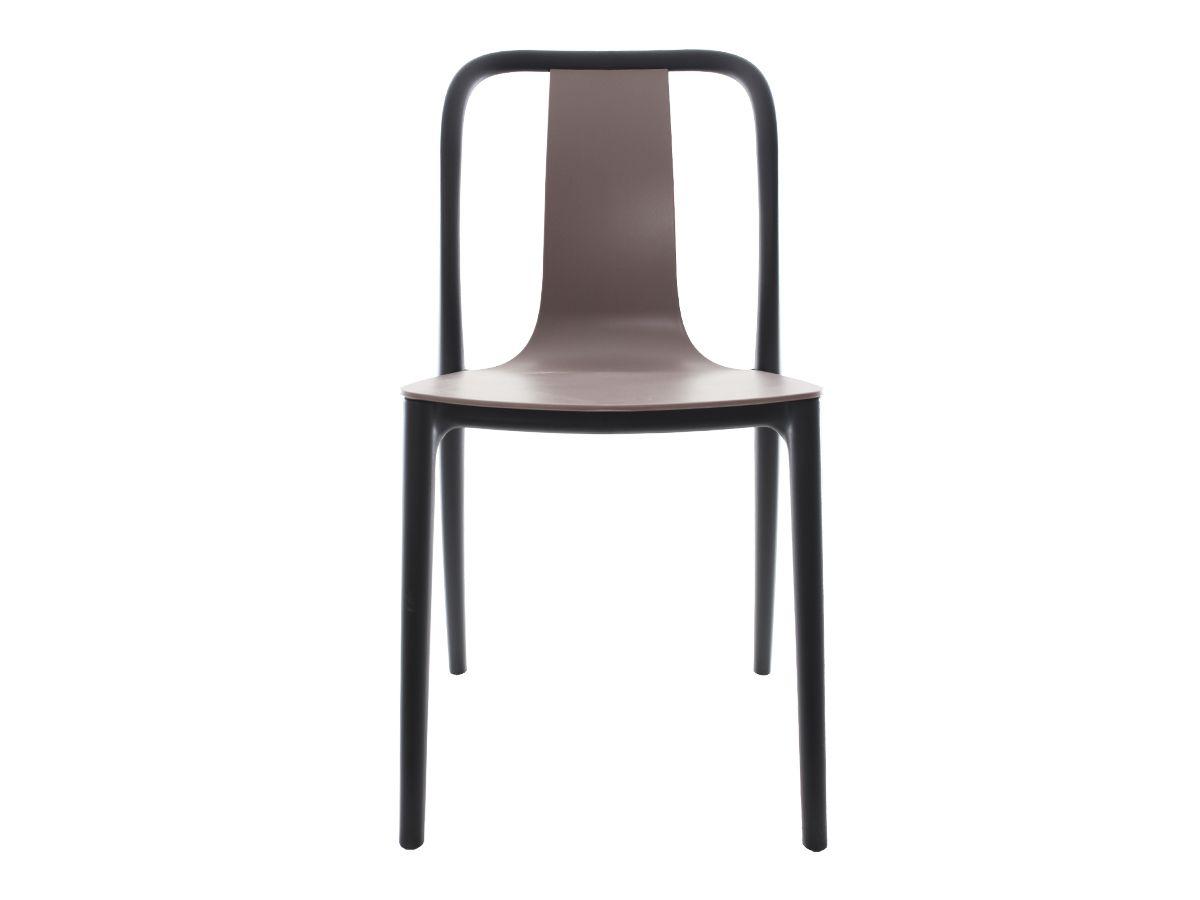Kit 2 Cadeiras Belle Fendi Empilhável