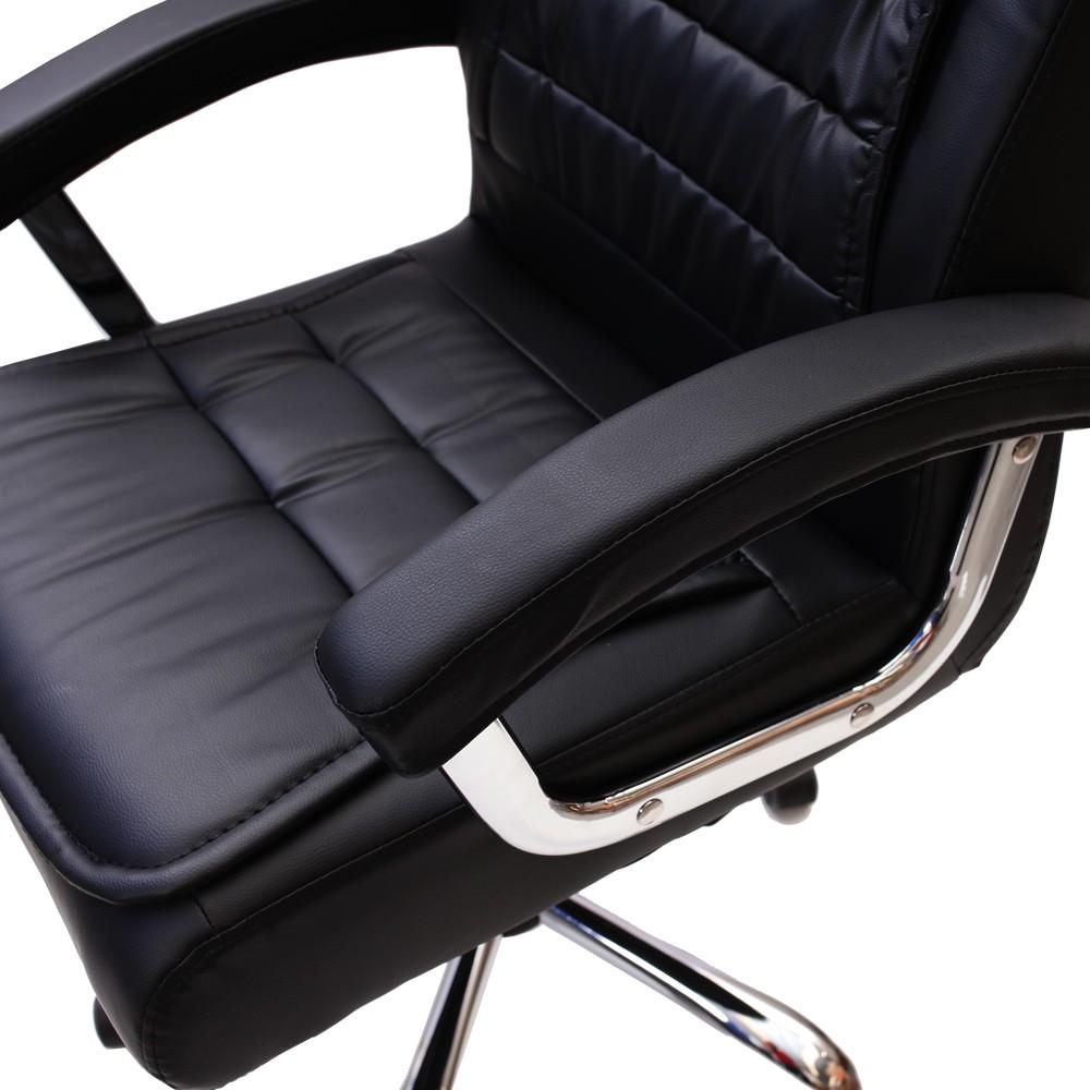 Kit 2 Cadeiras De Escritório Presidente Big Preta
