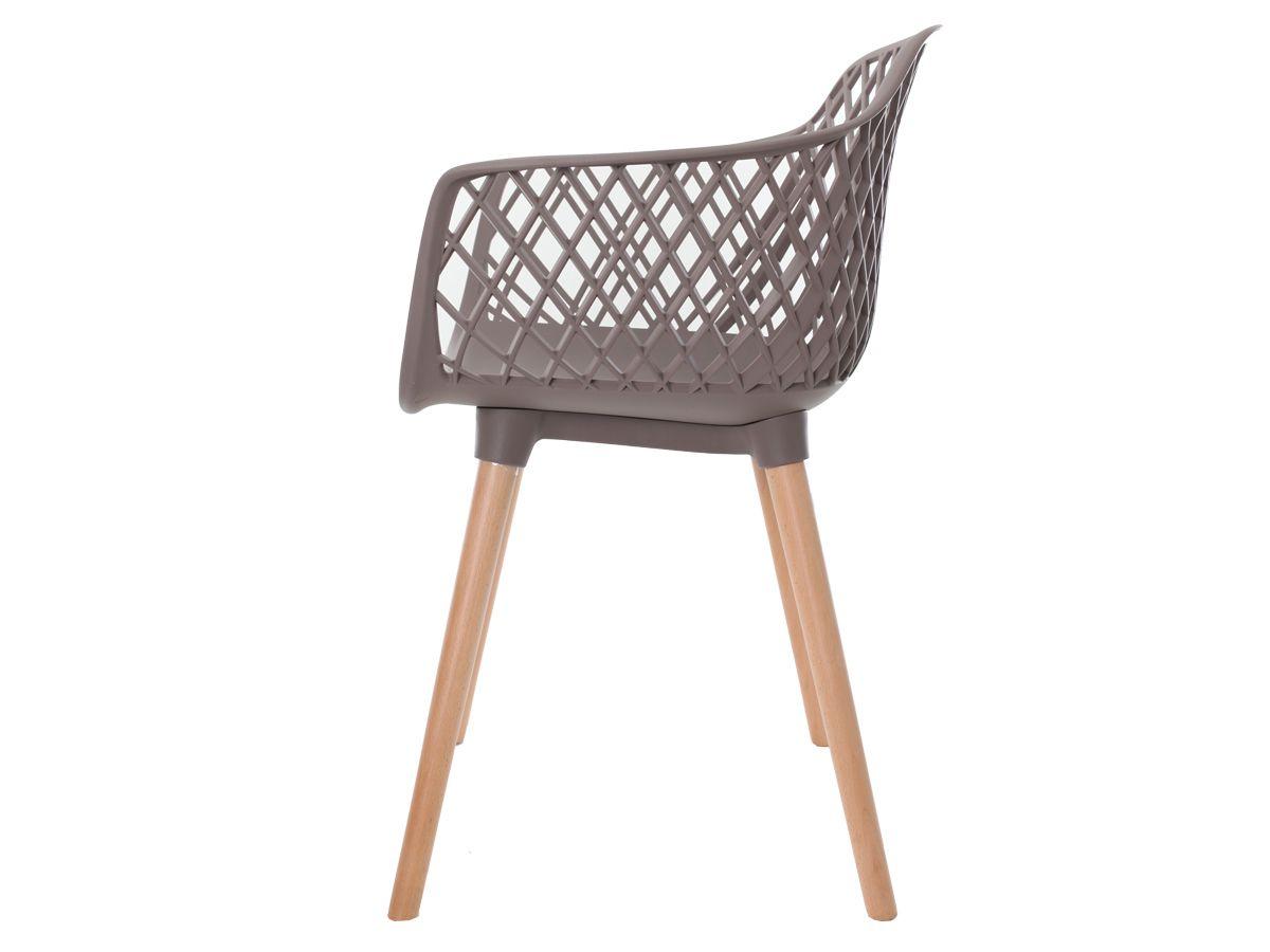 Kit 2 Cadeiras Vision Com Braço Fendi