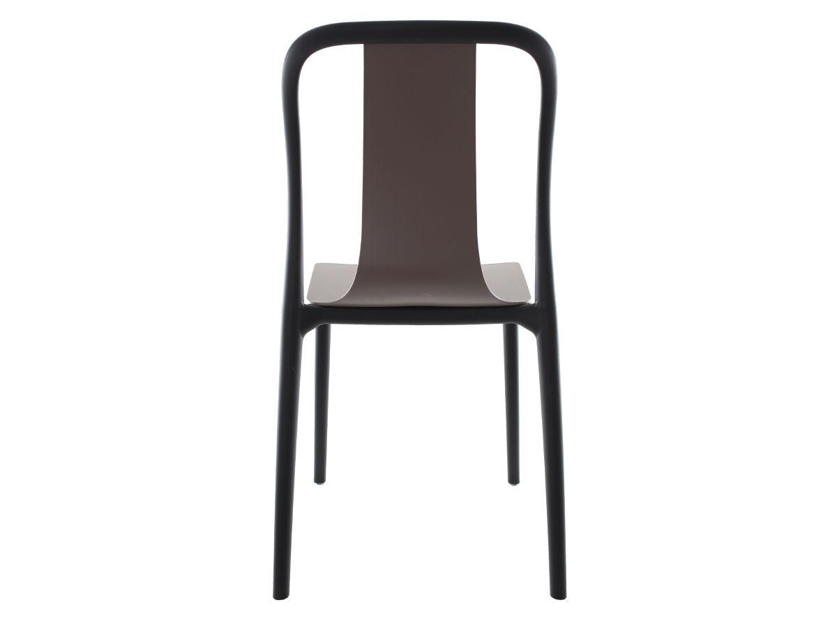 Kit 3 Cadeiras Belle Fendi Empilhável