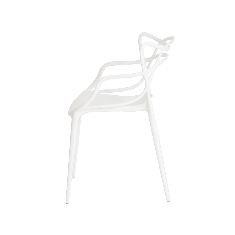 Kit 2 Cadeiras Allegra Branca